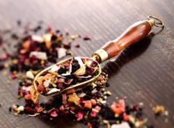 Gyümölcs teakeverékek