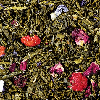 Sencha • Berry Beauty - (Strawberry)